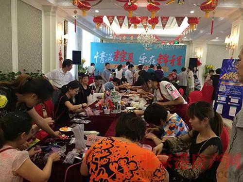 阳光锦程亲子粽动员 端午DIY活动欢乐落幕