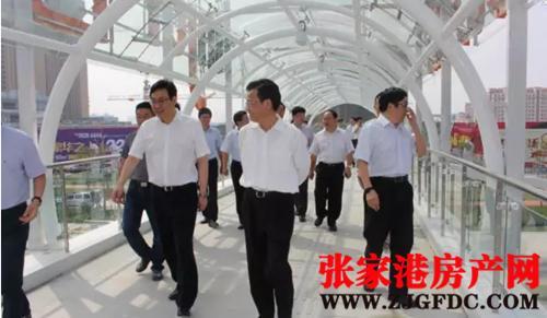 重磅:张家港市市委领导视察新城吾悦广场