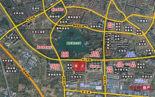 中南、青禾分获张家港暨阳湖南侧地块