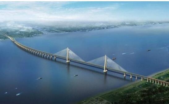沪通铁路跨长江大桥预计明年6月通车